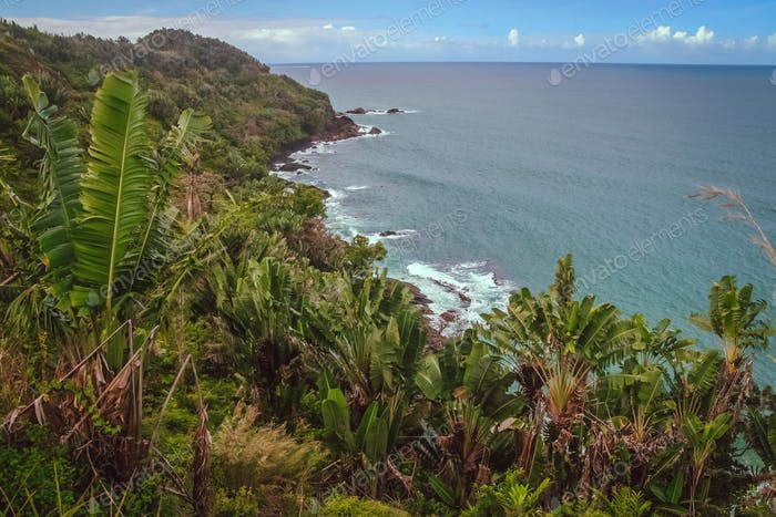 Stunning Madagascar coastline