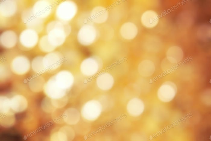 Golden texture bokeh