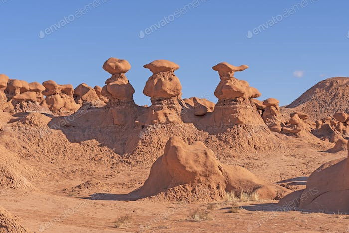 Goblin Formations in Red Rocks Country