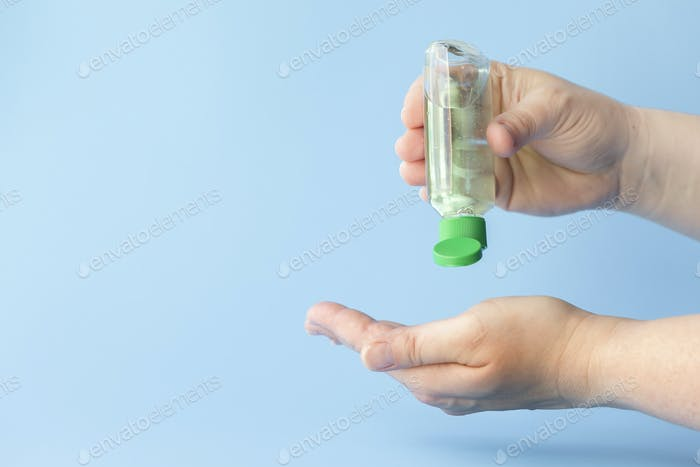 portable hand sanitizer