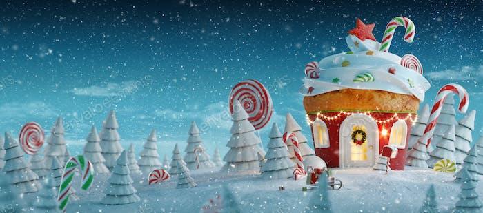 Weihnachten fullcg Cupcake breit