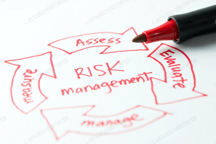 Risk management diagram