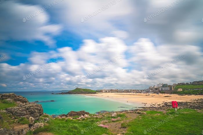 Porthgwidden Beach in St Ives