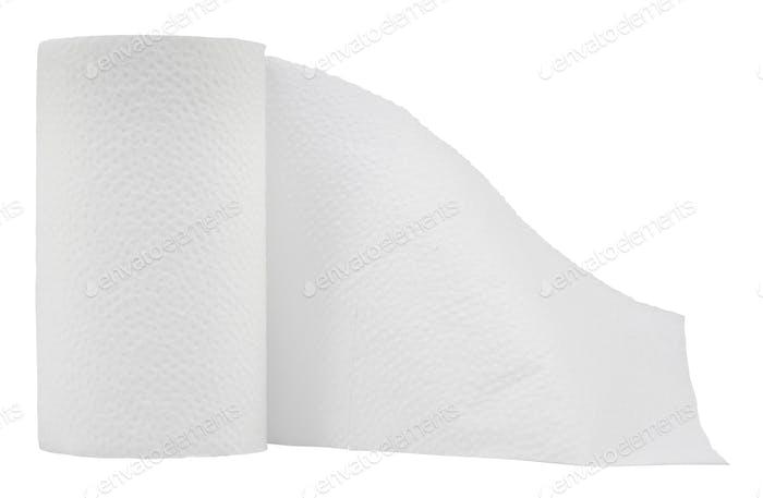 Isoliertes Toilettenpapier