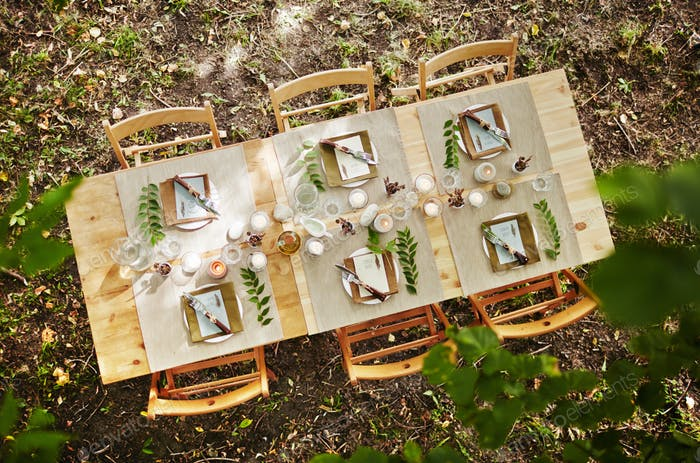 Waiting for guests