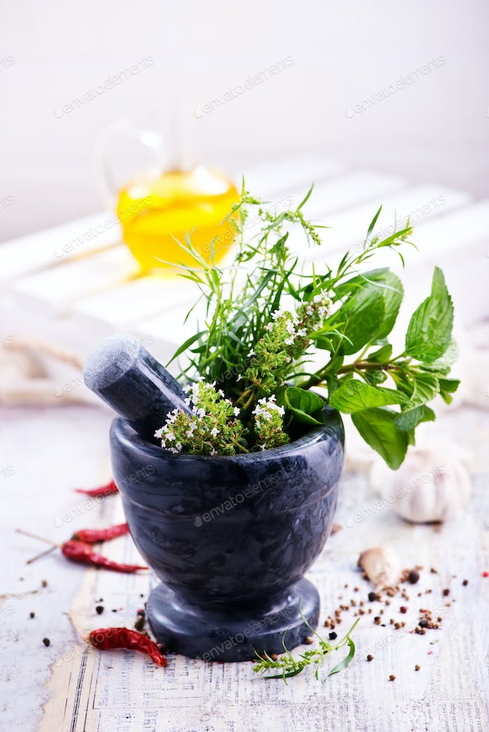 aroma herb and spice