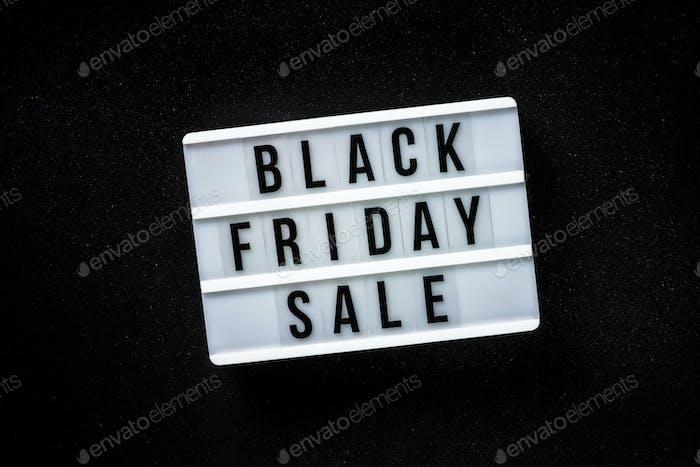Black friday sale online shopping.
