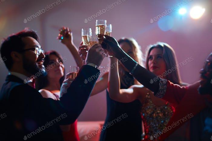Champagne booze