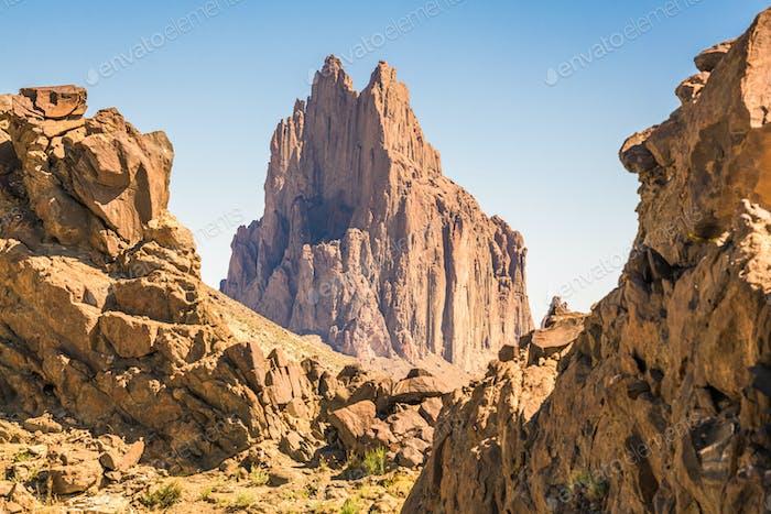 Shiprock, New Mexico, USA at Shiprock