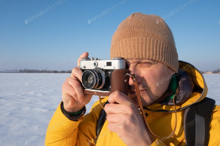 Fotograf fotografiert