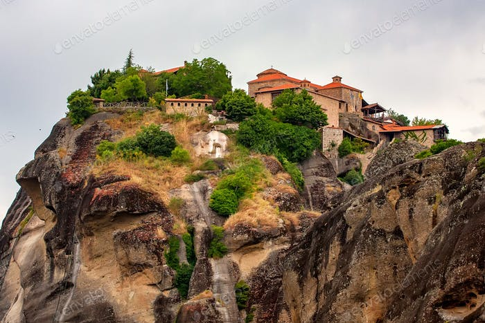 The Monastery of Great Meteoron in Meteora, Greece