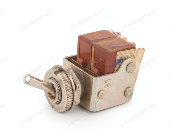 Old toggle switch