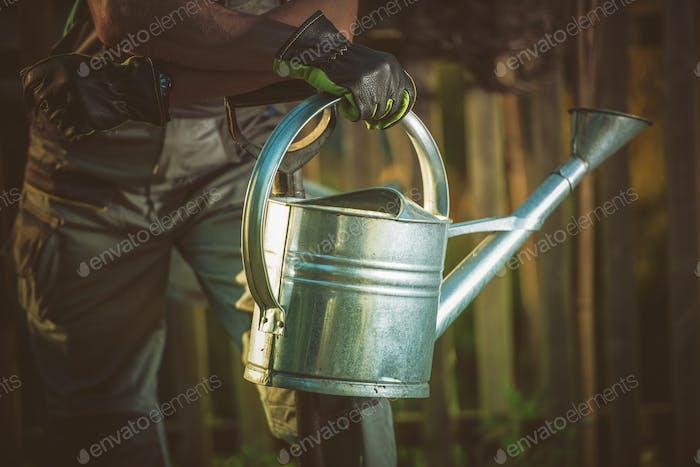 Watering Can Gardening
