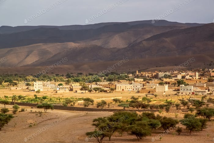 Draa Valley in Morocco
