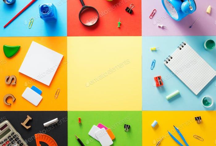 at abstract at abstract colorful paper