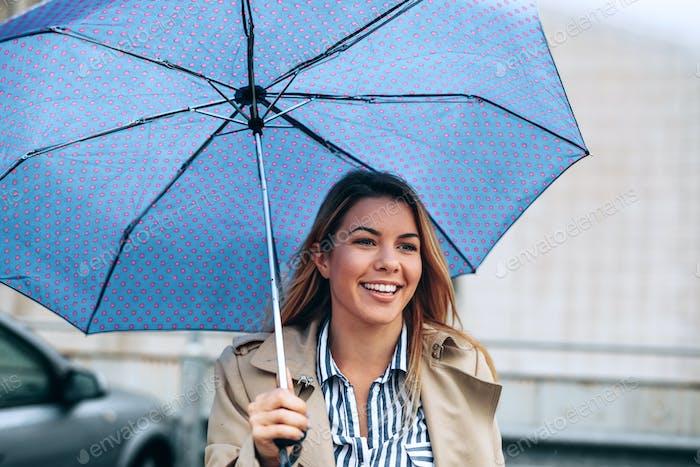 No rain can tarnish that smile
