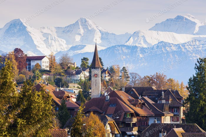 Panorama of Hilterfingen