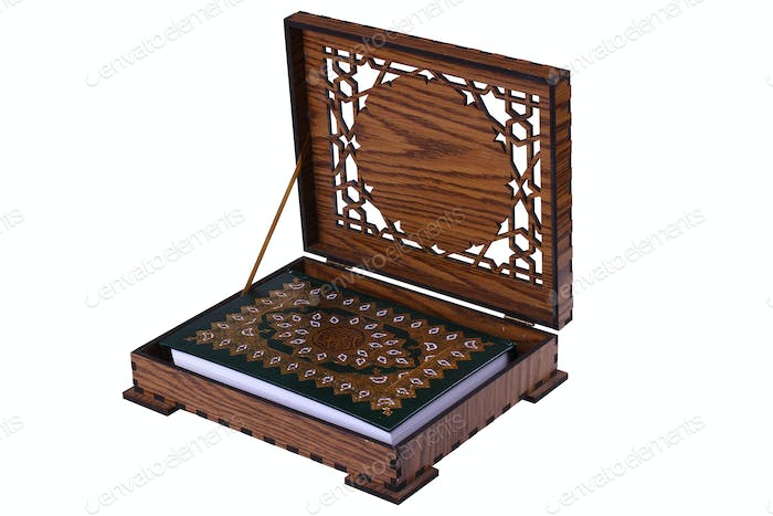 Quran Box Isolated