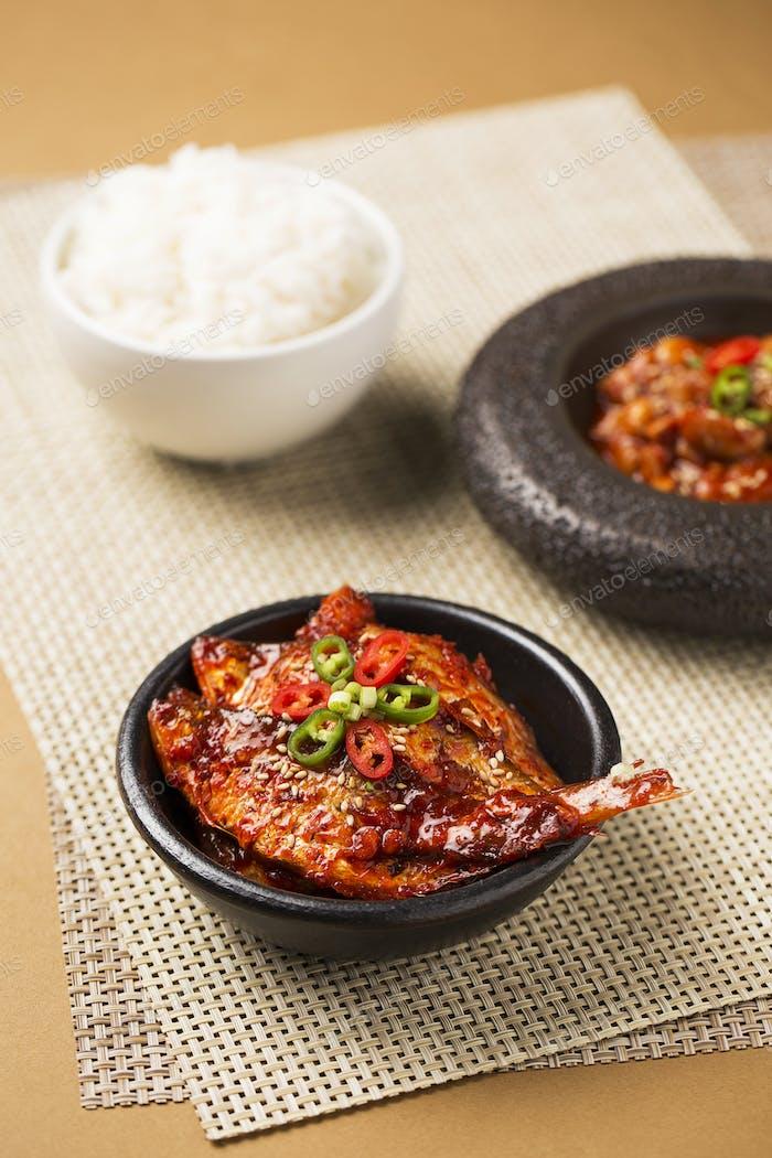 Korean Cuisine: Salted Fermented Fish/Seafood
