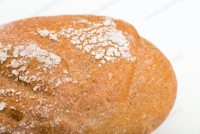 Fresh crunchy bread.