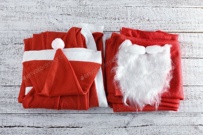 Weihnachtsmann-Kostüm