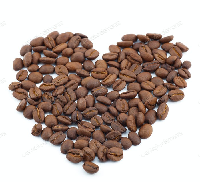 brown roasted coffee