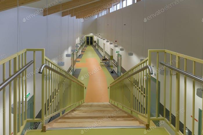 Nursing Home Stairway