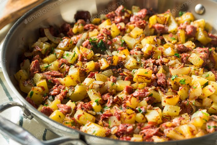 Savory Homemade Corned Beef Hash