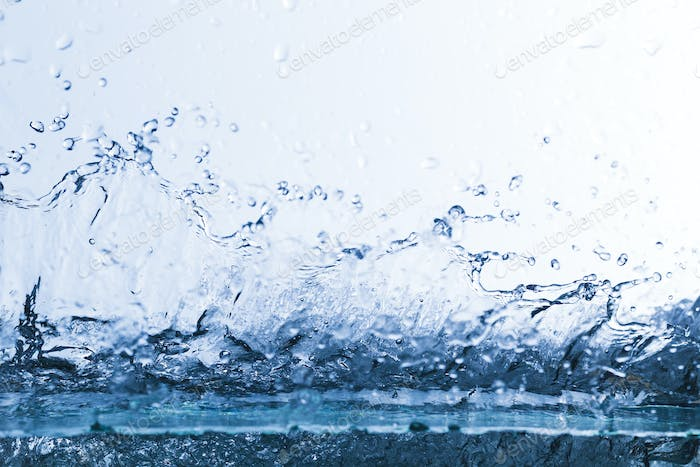 Water, drops, sprays, splashes, stream, flow, abstraction, minimalism