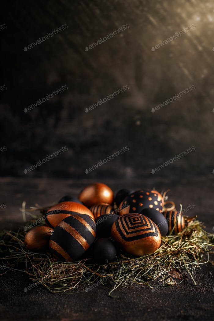 Frohe Osterkarte