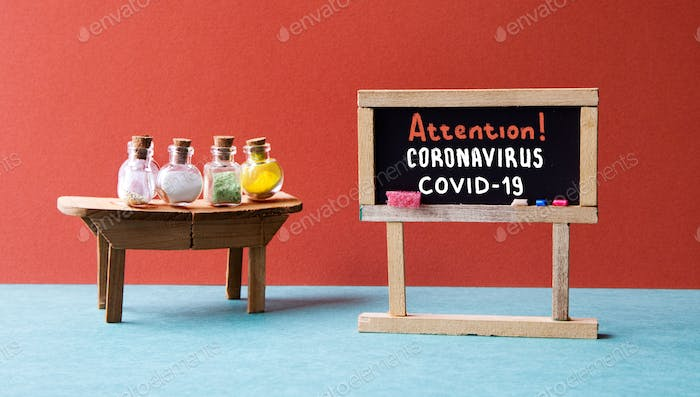 Attention coronavirus COVID 19.