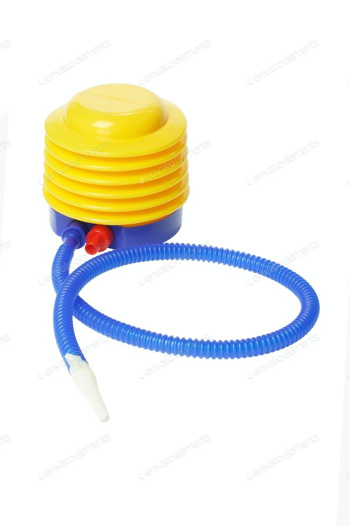 Bunte Kunststoff-Luftpumpe