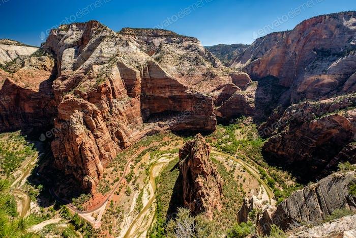 Landschaft im Zion Nationalpark