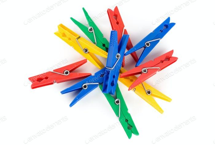 Photo of Colour clothes-peg