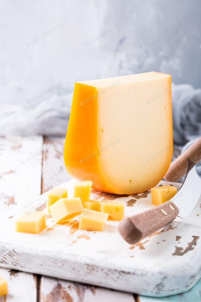 Köstlicher Gouda-Käse