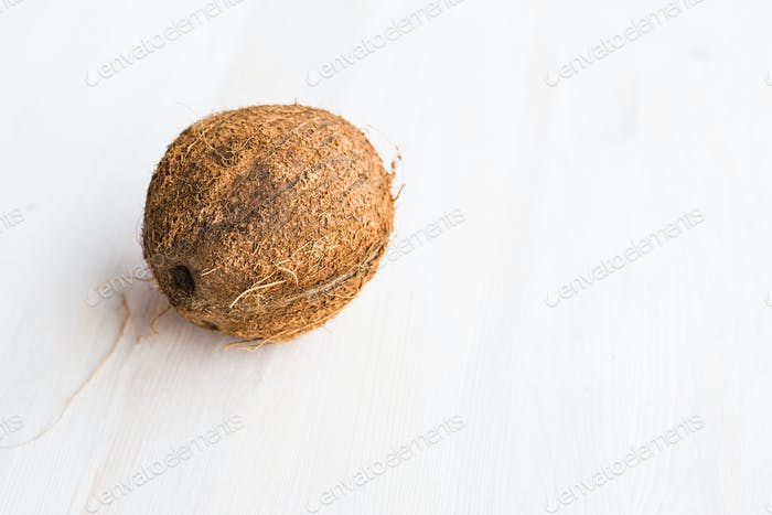 Tropical fruit coconut