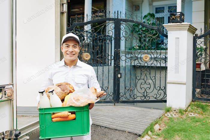 Food Delivery Service Worker
