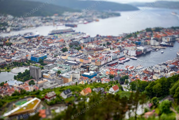 Bergen is a city and municipality in Hordaland on the west coast