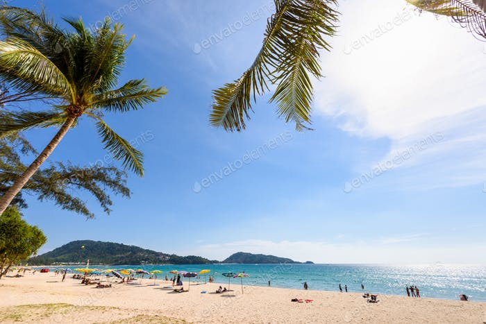 Beautiful landscape Hat Patong Beach