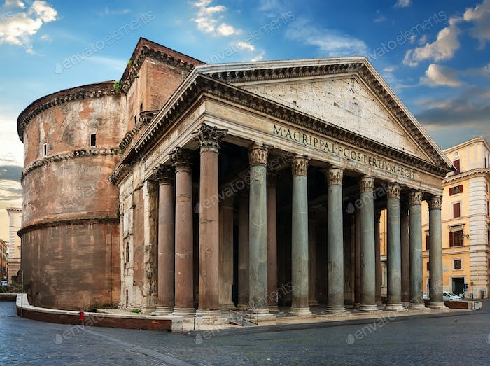 Ancient building of Rome