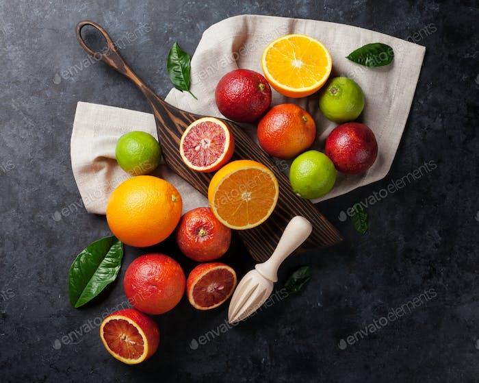Fresh citruses