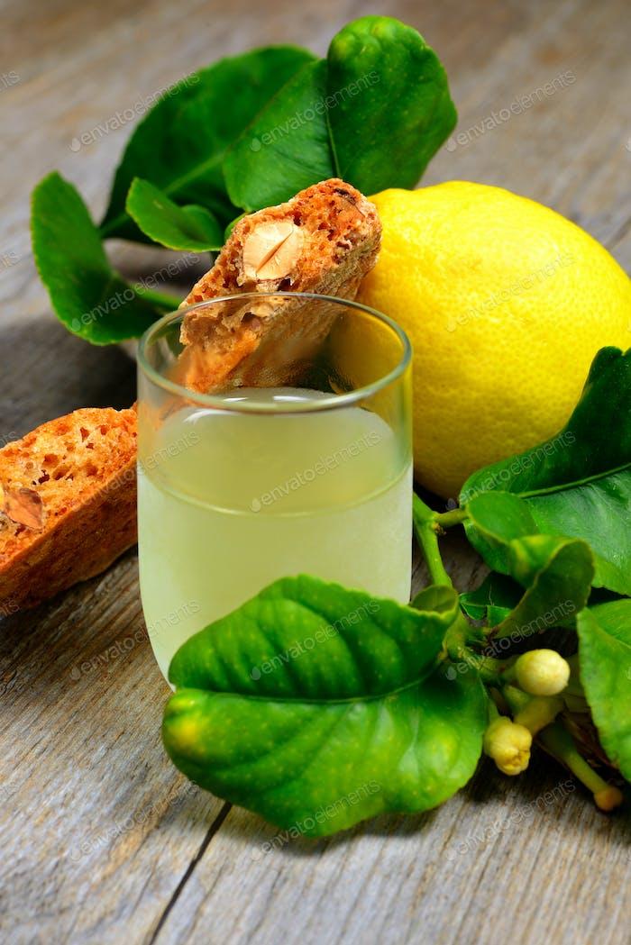 roccoco and Limoncello liqueur