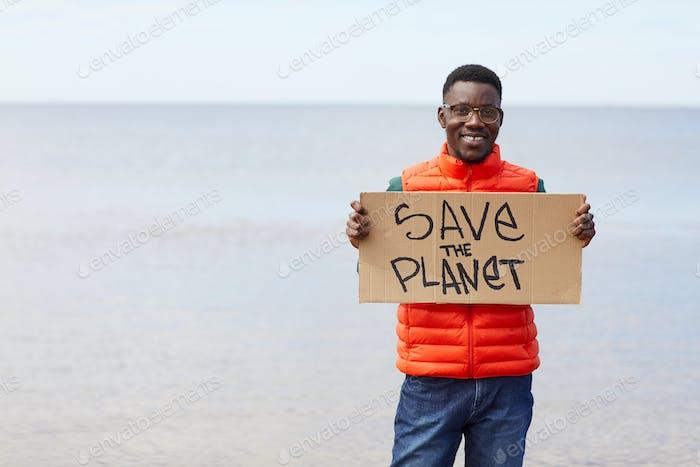 El hombre salvando la naturaleza