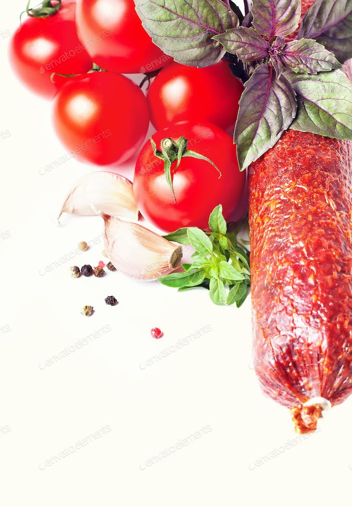 Sausage with Tomatoes