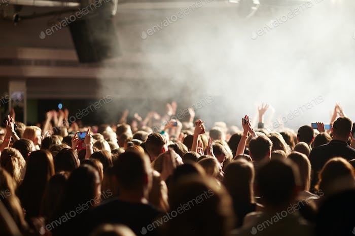 Youth at concert
