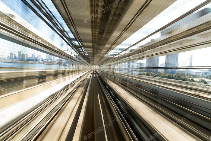 U-Bahn-Gleise