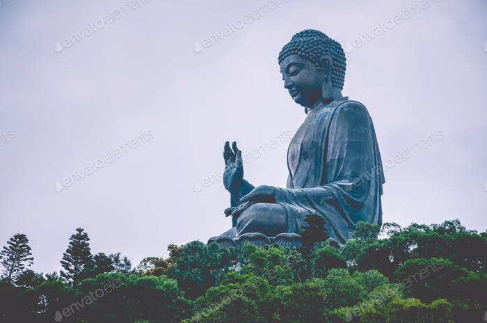 Giant Buddha in Hong Kong, Lantau Island