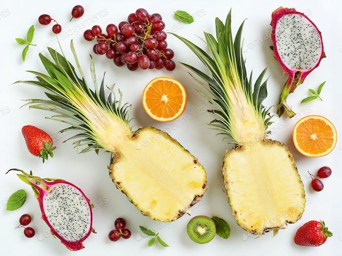 Fresh fruits composition