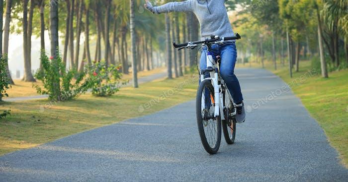 Riding Free at park