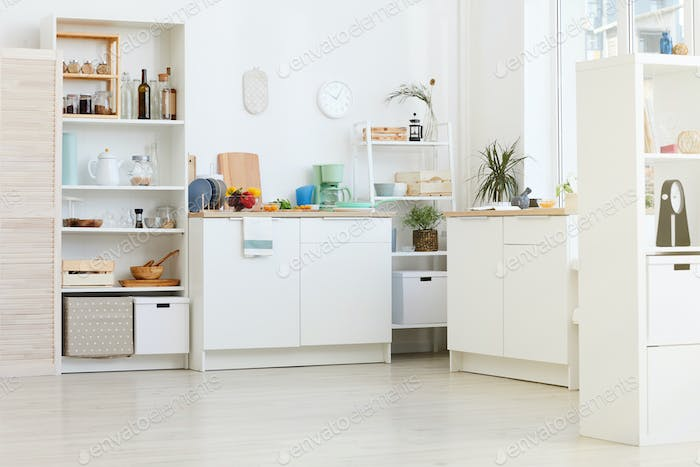 Domestic kitchen at home